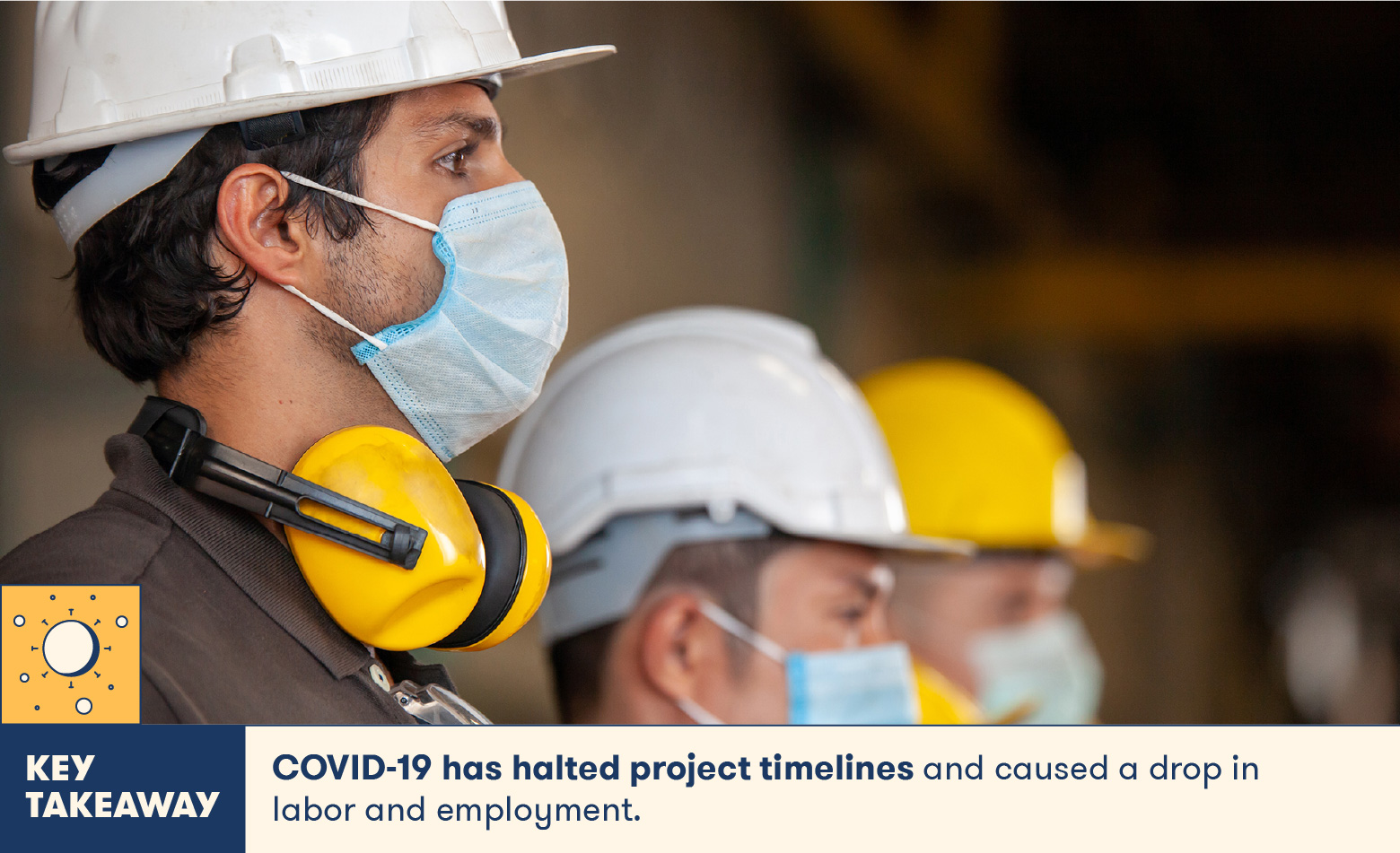 COVID has affected project deadlines