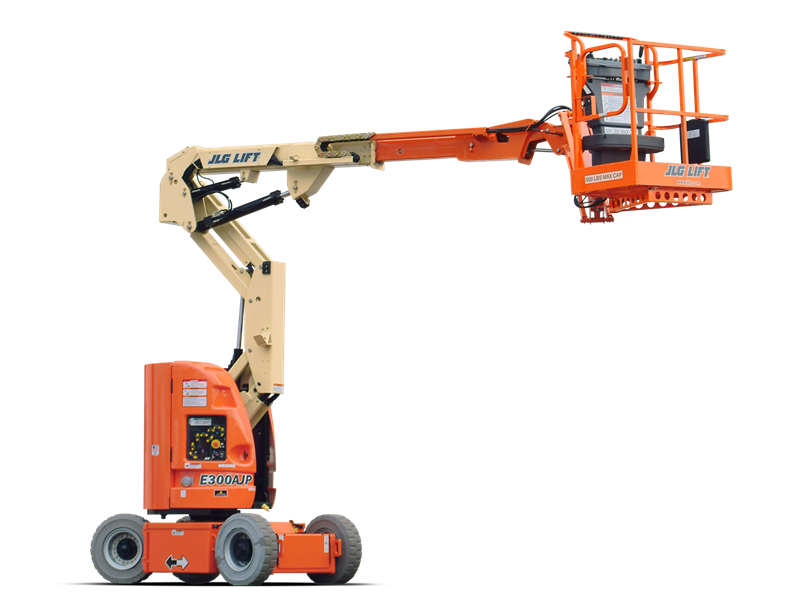 30 ft Electric Narrow Articulating Boom Lift