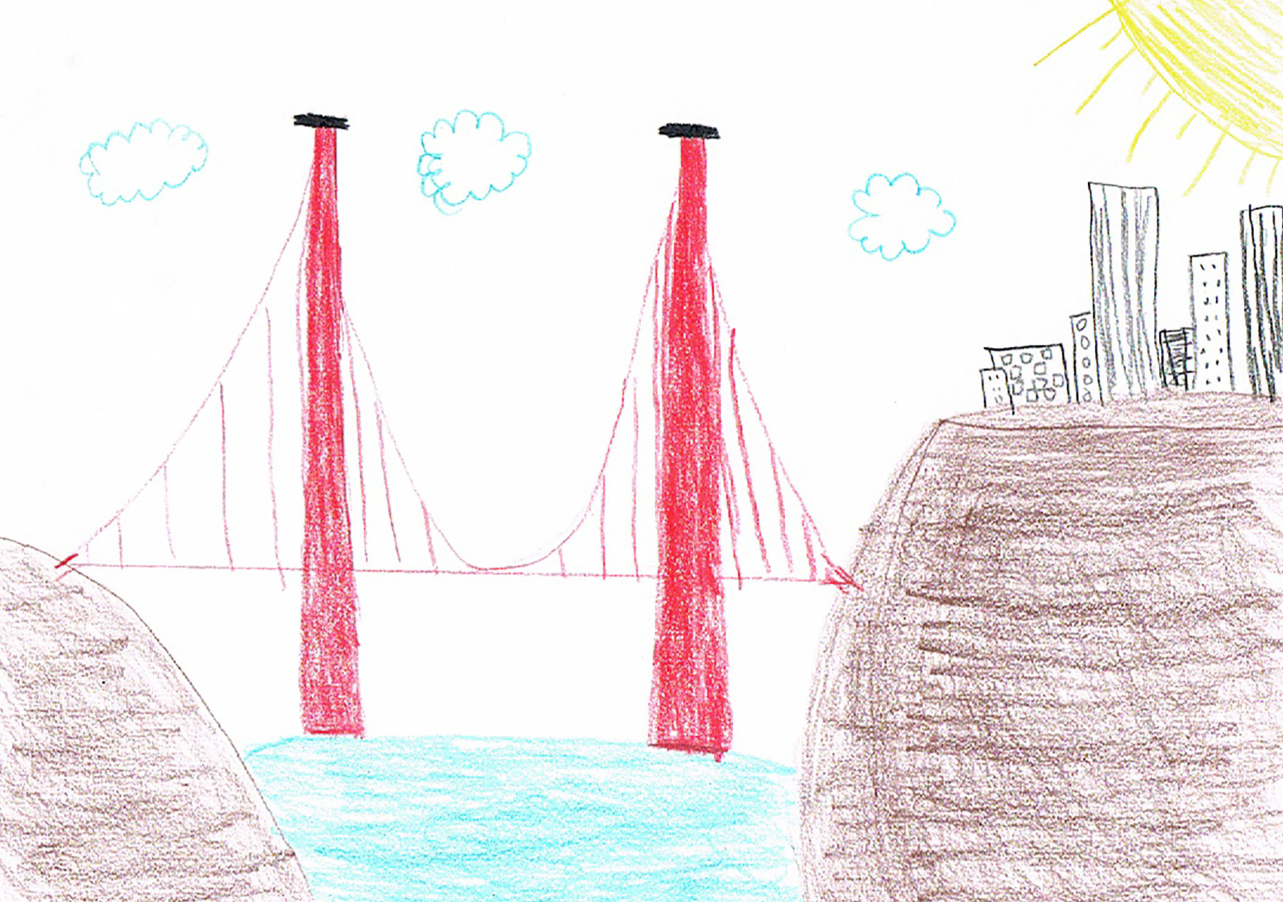 Reimagining  Kids' Construction Drawings in Real Life