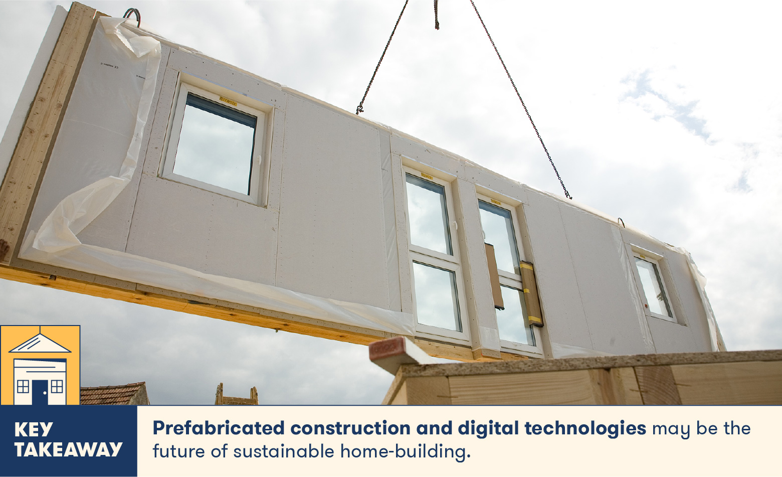 Prefabricated construction and digital technologies are the future