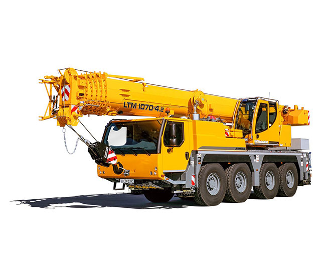 10-99 ton Operated Crane