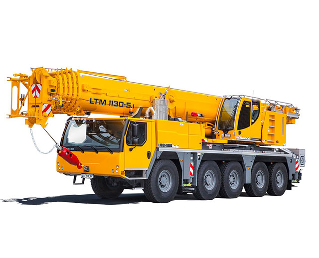 100-199 ton Operated Crane