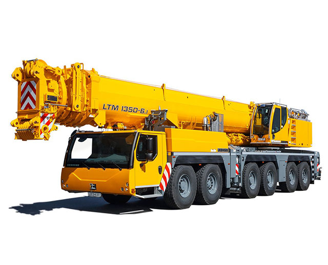 300-399 ton Operated Crane