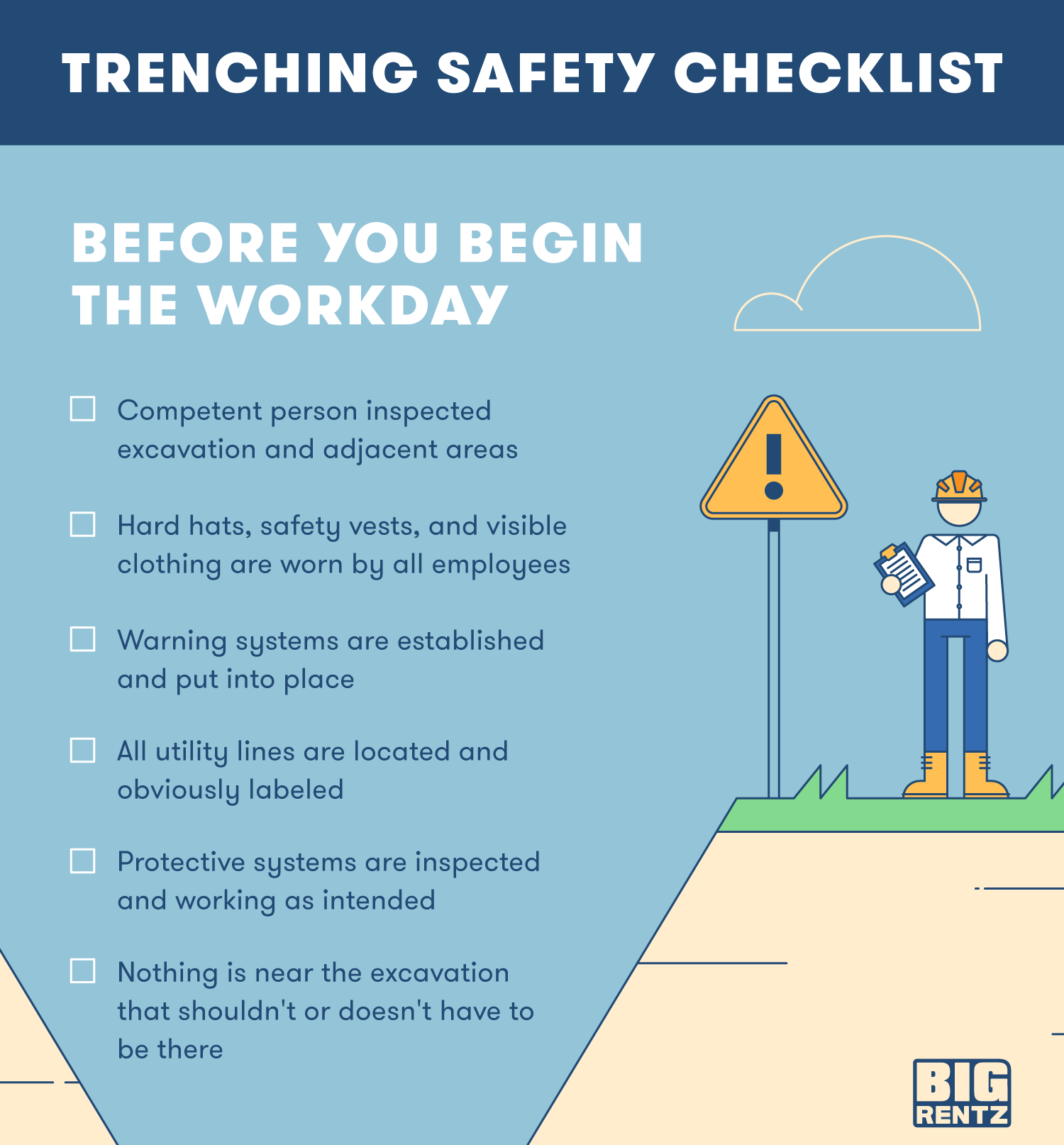 The 10 Trenching Safety Tips That Can Save A Life Bigrentz