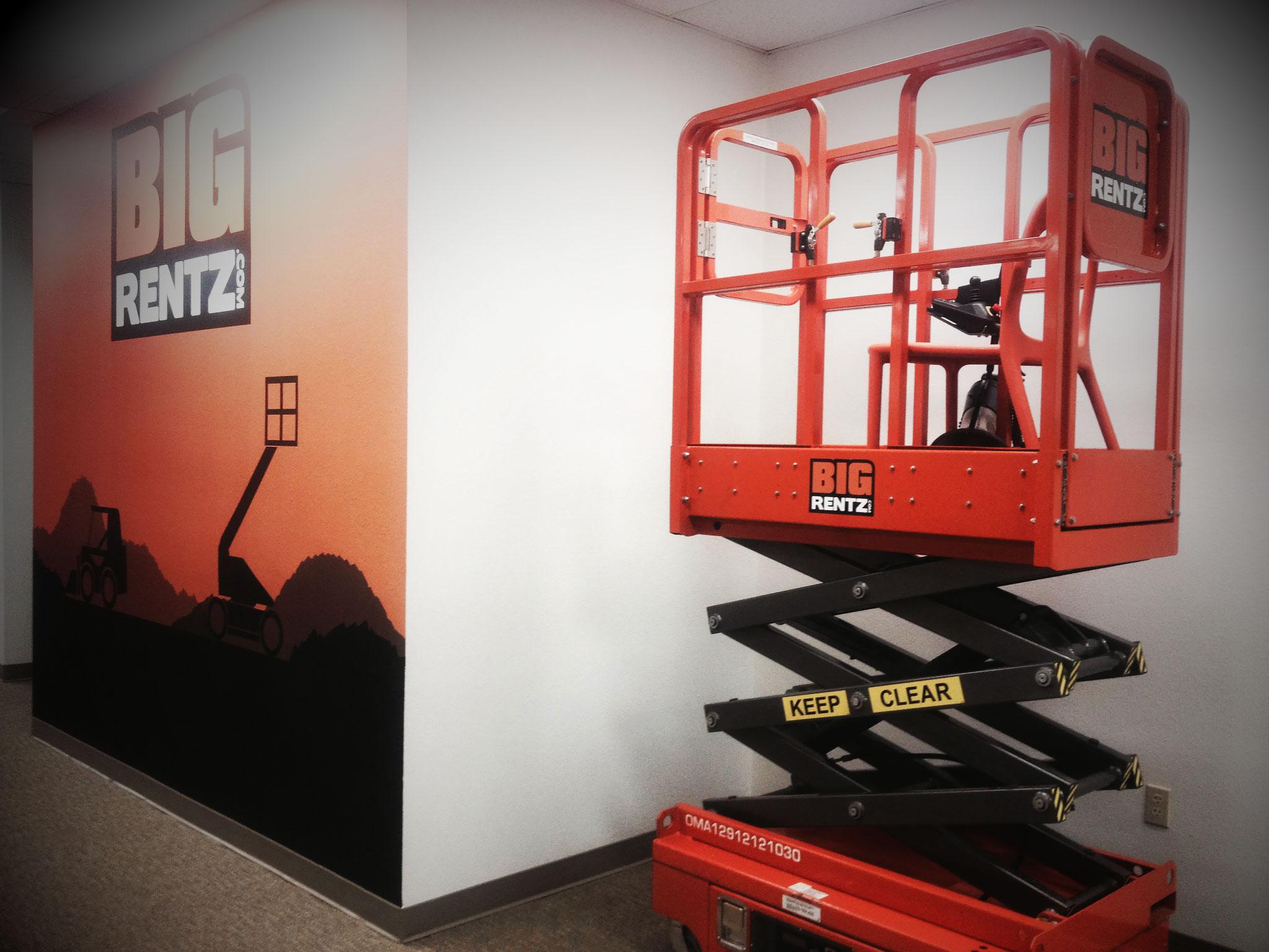 Rent a boom lift or scissor lift at BigRentz.com