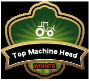 Ik ben een BigRentz Machine Head-winnaar!