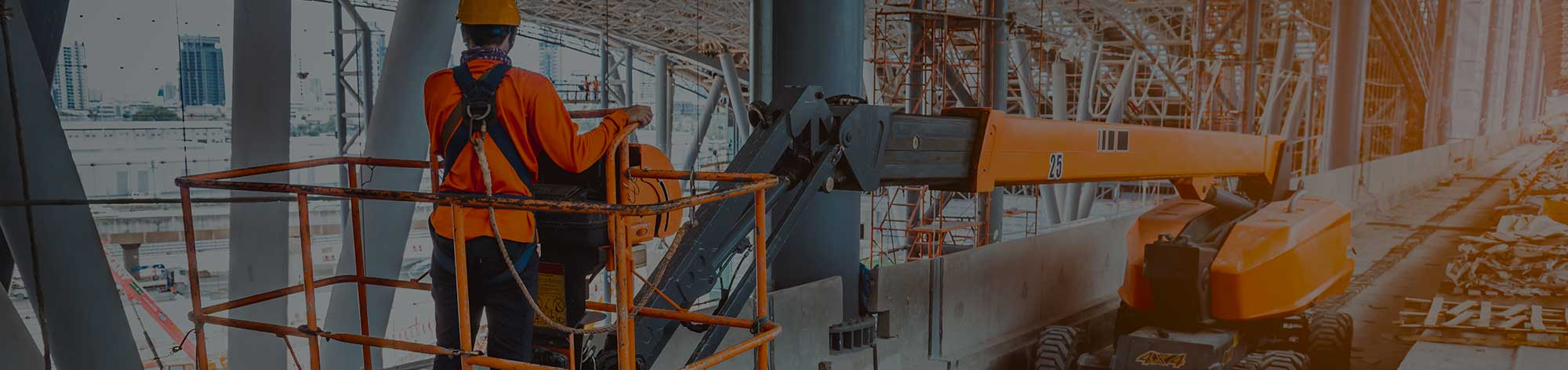 Boom Lift Rental Guide Banner