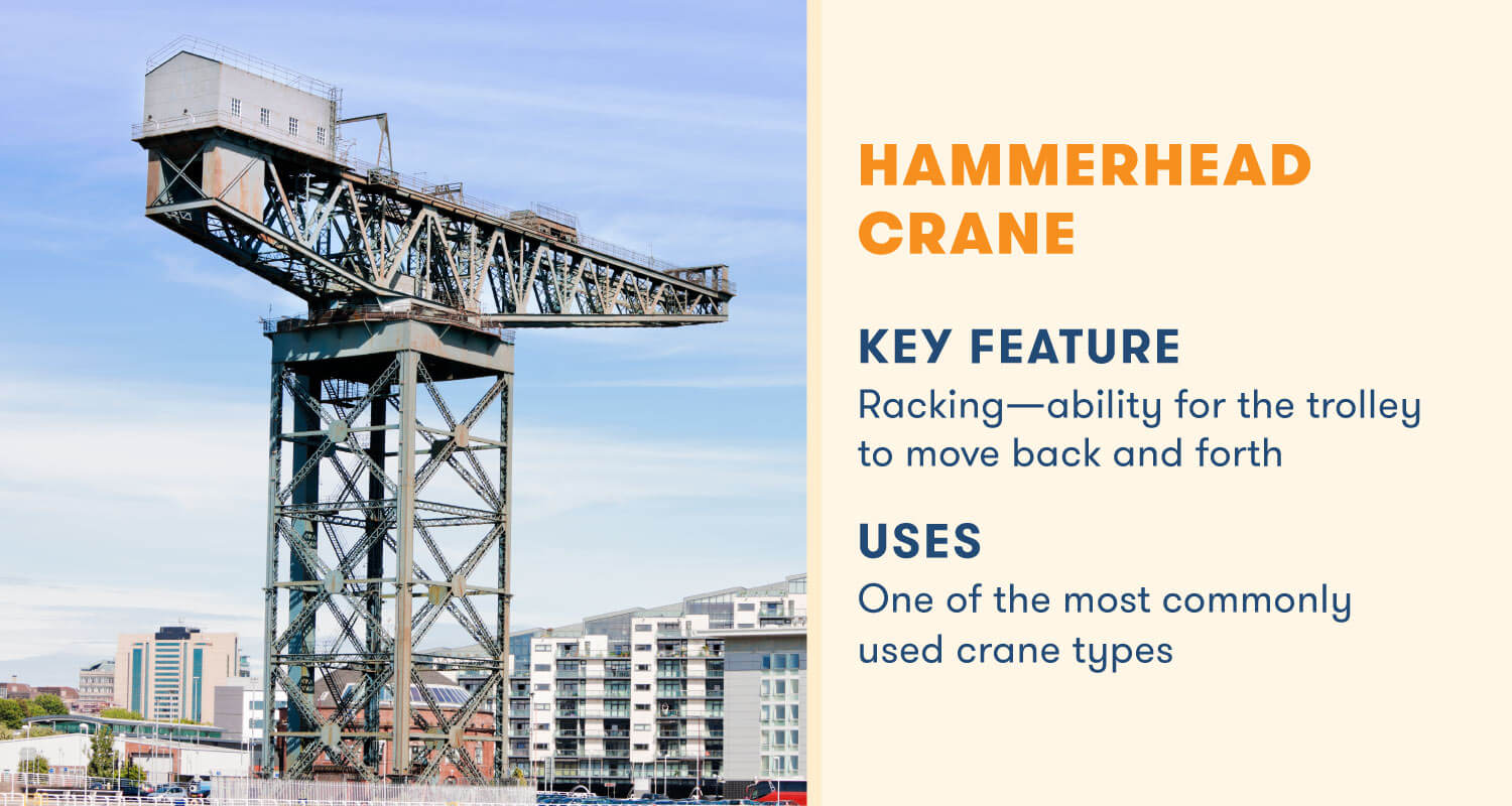 hammerhead crane key feature racking
