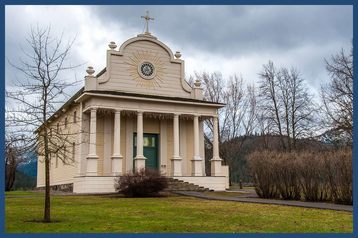 The Coeur d' Alene's Old Mission in Idaho