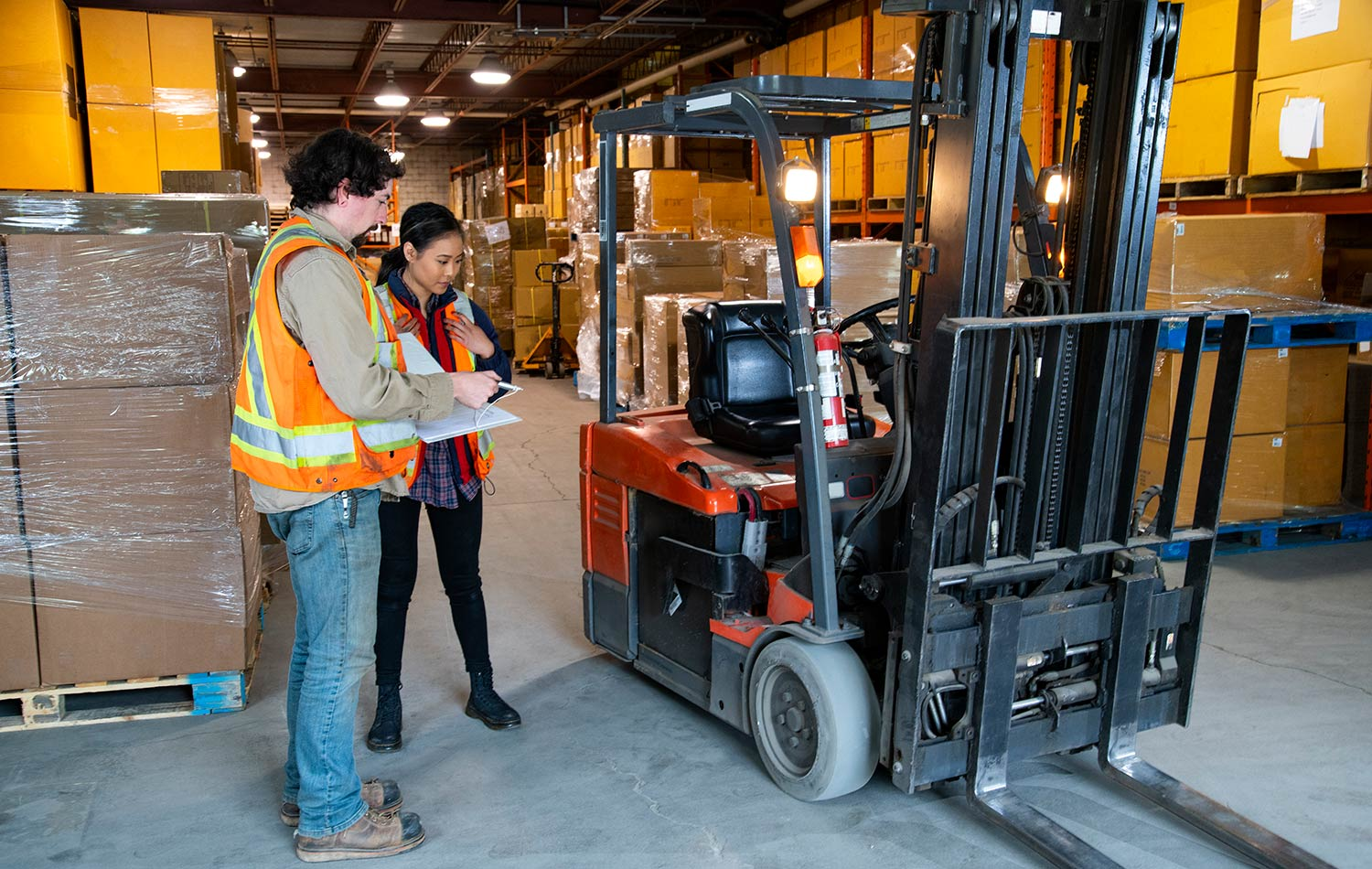 forklift certification safety