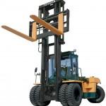 6,000 lb Rough Terrain Straight Mast Forklift