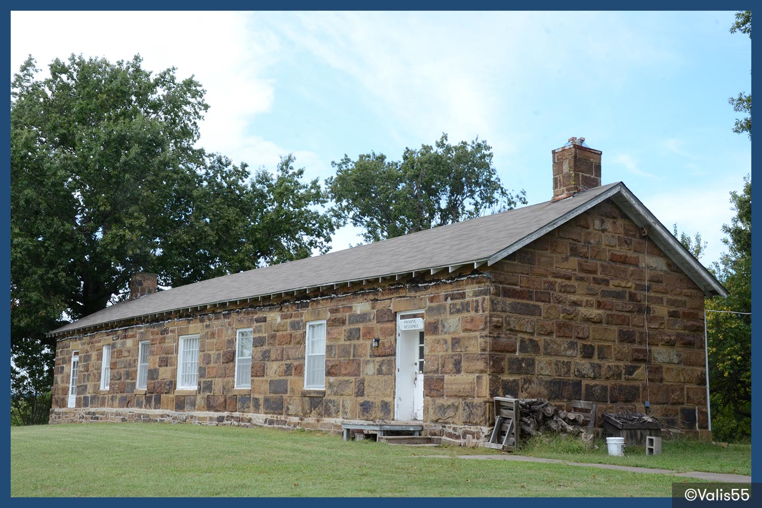 Fort Gibson in Oklahoma