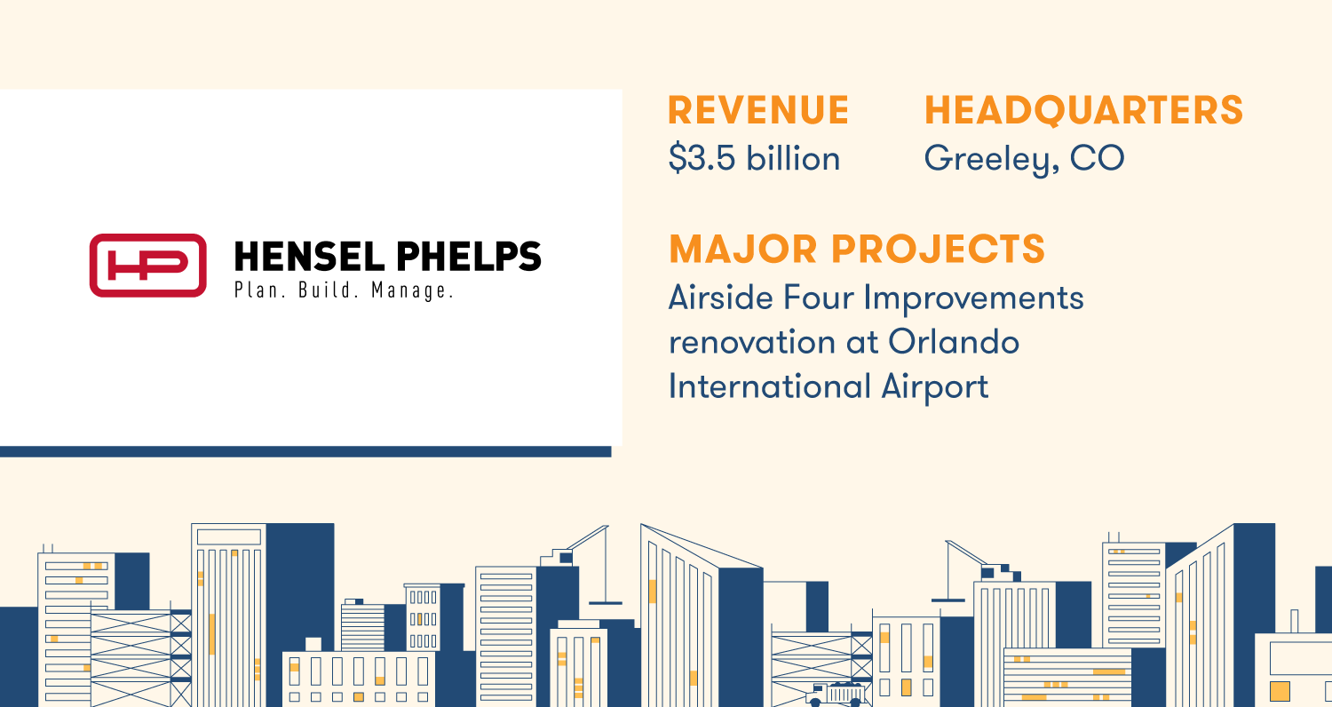 hensel phelps construction company profile