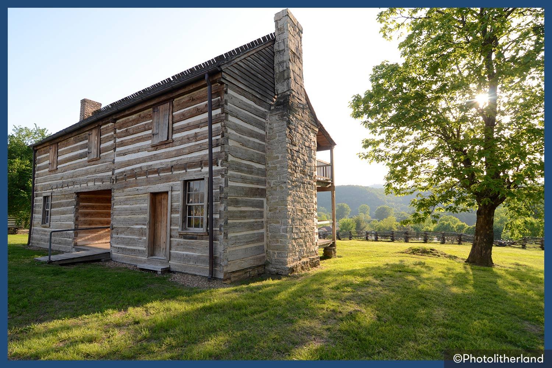 Jacob Wolf House in Arkansas