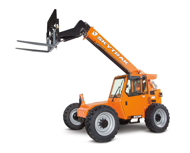 6,000 lbs, 36 ft, Telescopic Forklift