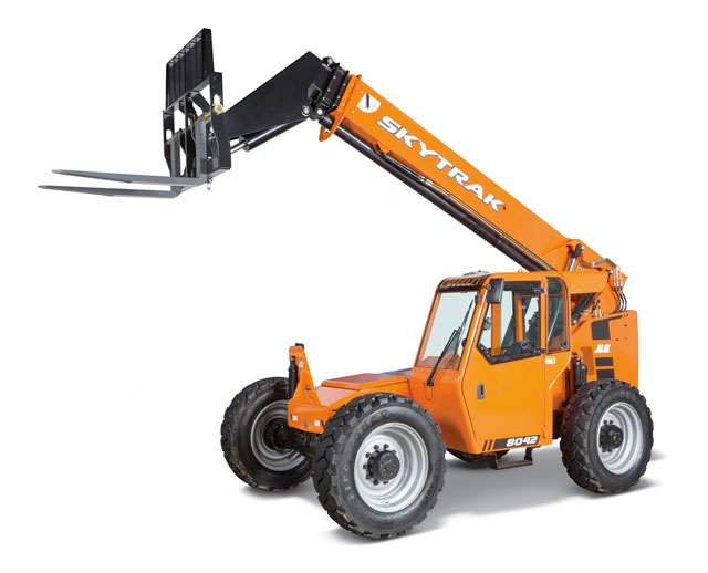 8,000 lbs, 42 ft, Telescopic Forklift
