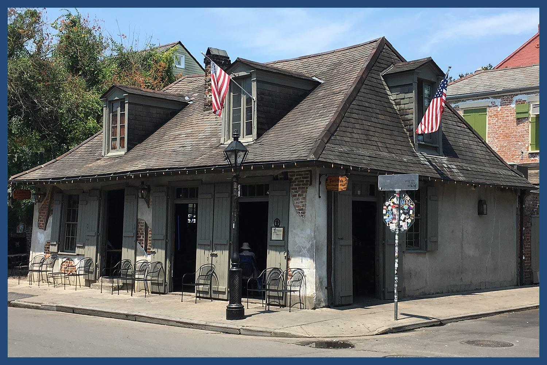 Lafitte's Blacksmith Shop in Louisiana