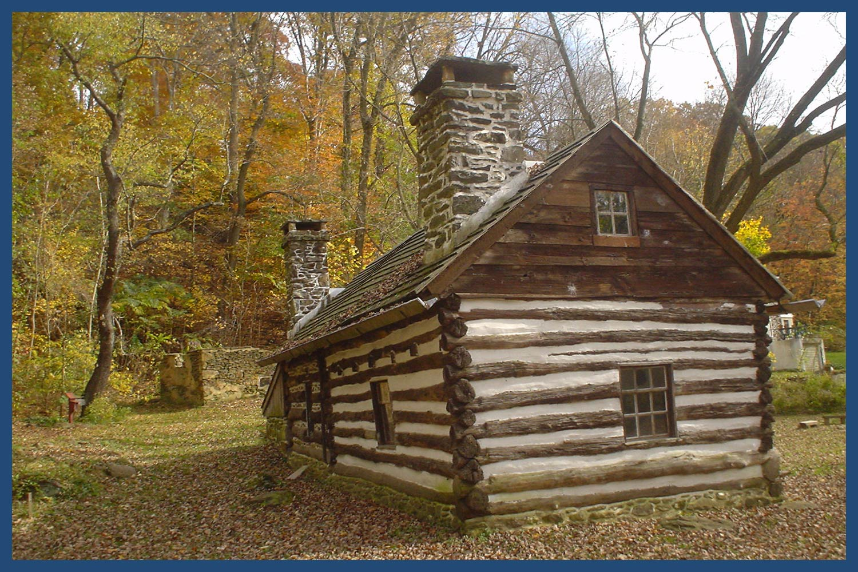 Lower Swedish Cabin in Pennsylvania