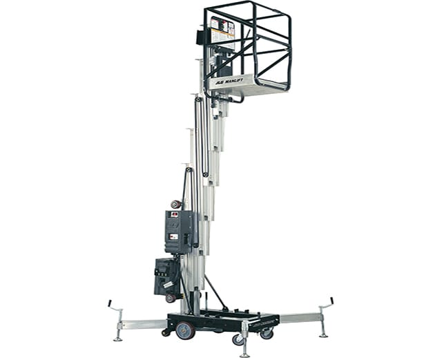 15 ft, Single, Push-Around Manlift