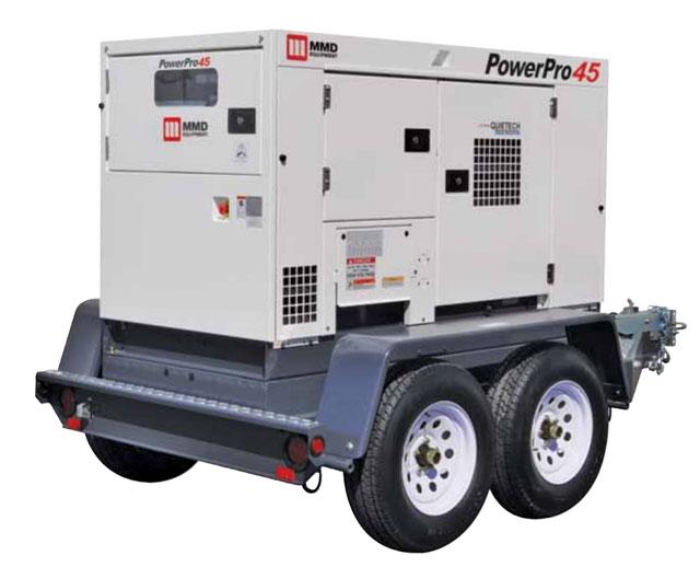 36 kW / 45 kVA Towable Diesel Generator