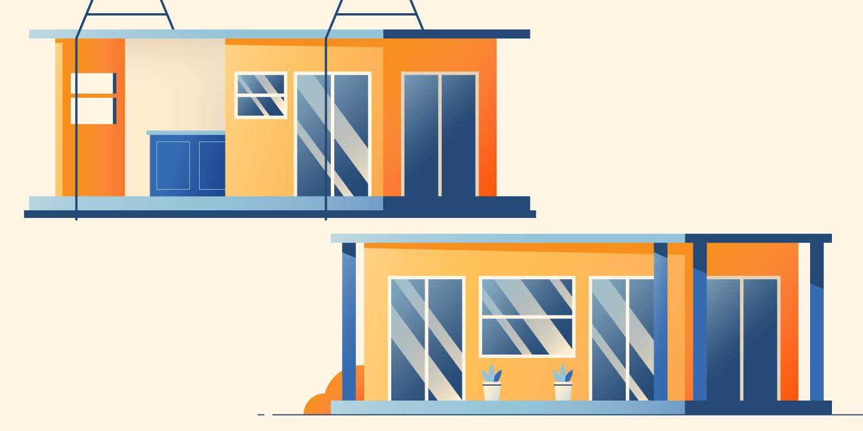 modular and prefab houses