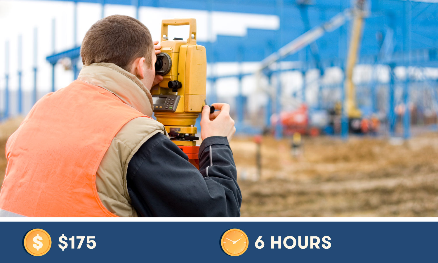 National Council of Examiners for Engineering and Surveying (NCEES) costs $175 and takes 6 hours