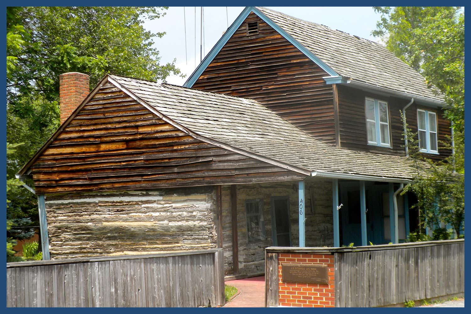 C.A. Nothnagle Log House in New Jersey