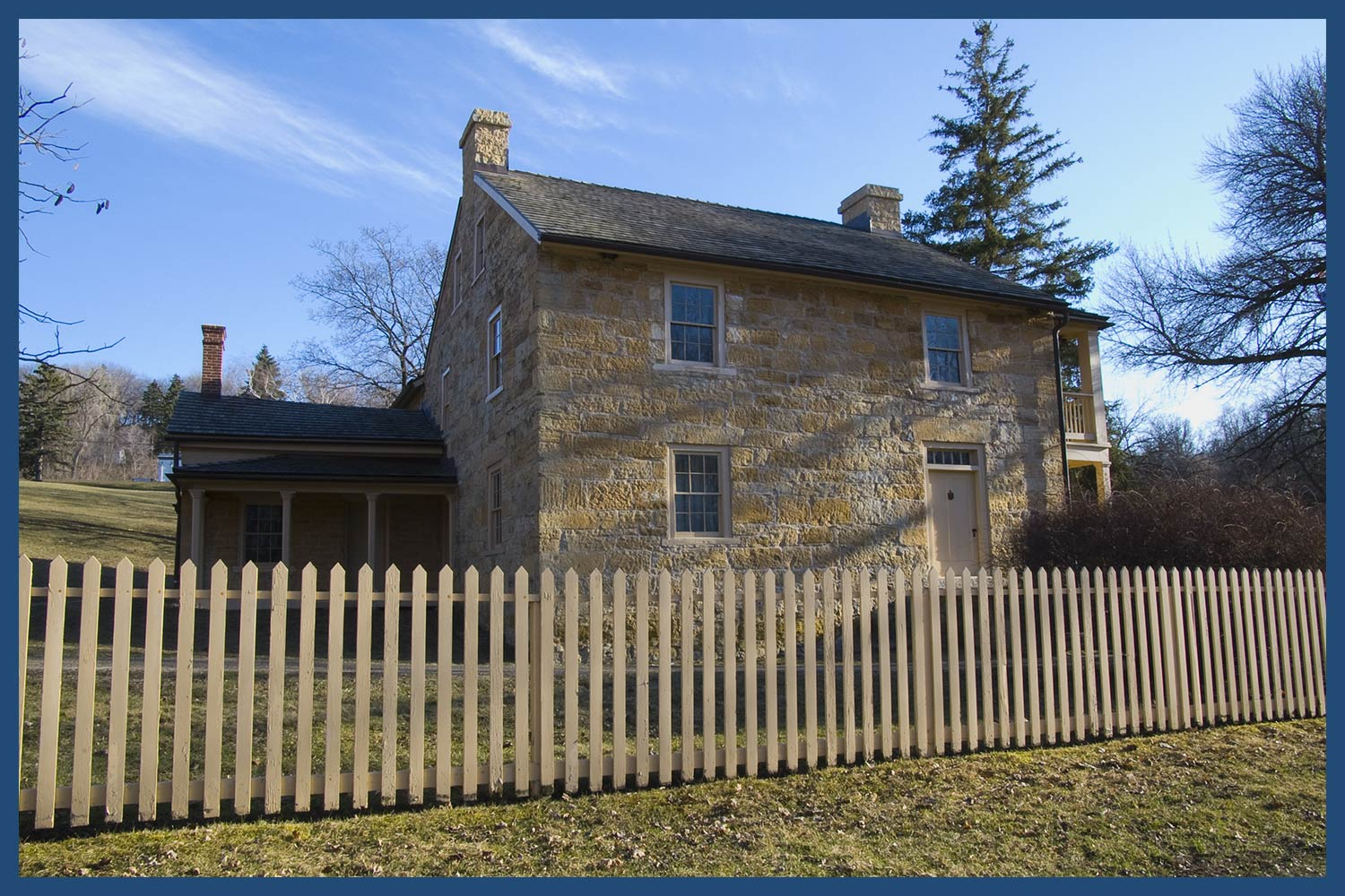 The Sibley House in Minnesota
