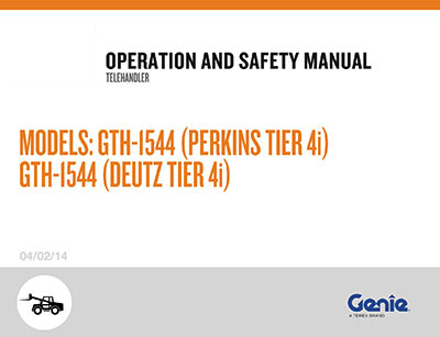 genie gs 3246 parts manual