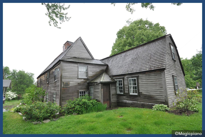The Fairbanks House in Massachusetts