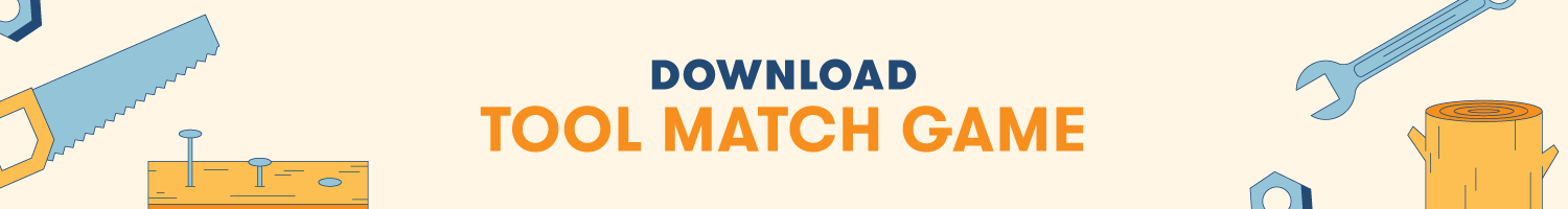 Download Tool Match Game Printable