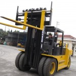 Cushion Tire Forklift: 36k Lb Load Capacity