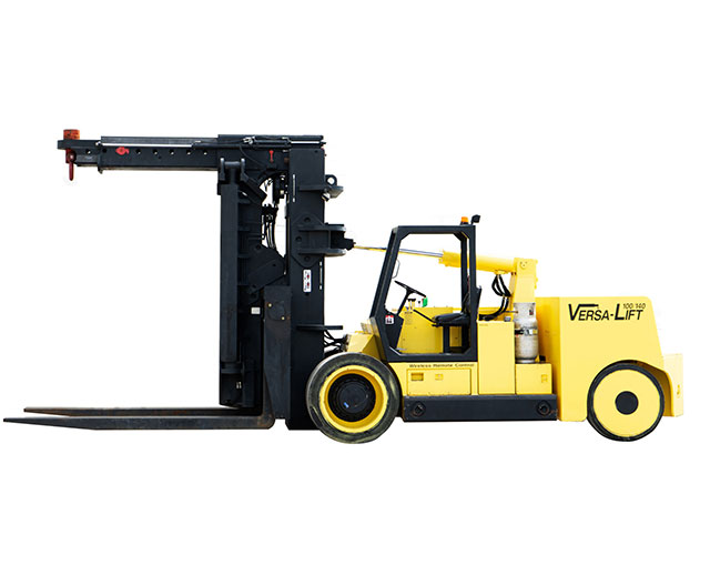 100,000-140,000 lbs, Extendable Counterweight Forklift