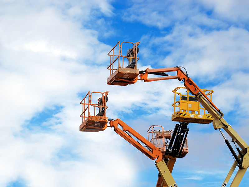 Safety Tips When Using Boom Lifts