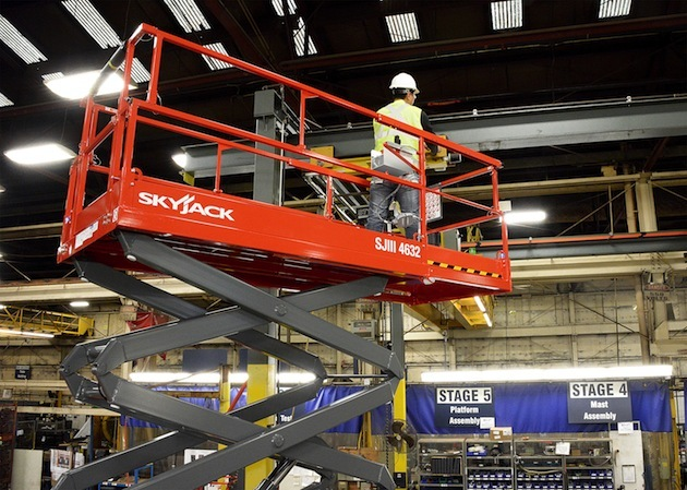 Image of Why Rent an Electric Scissor Lift