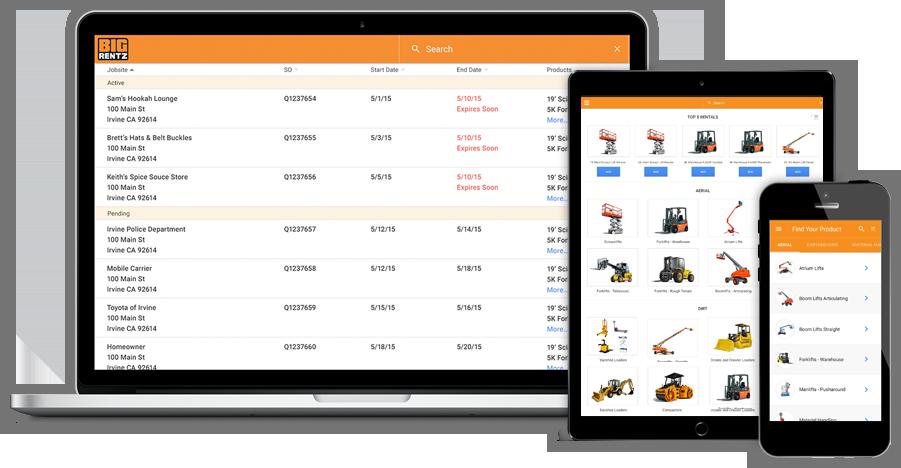 Image of BigRentz Launches Online Customer Portal to Simplify Equipment Rental