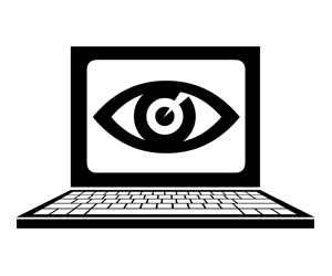 Laptop eye