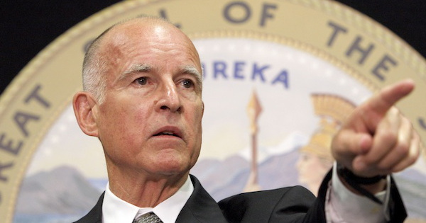 Jerry brown california seal sized