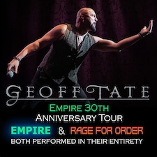 Geoff Tate Empire 30th Anniversary Tour