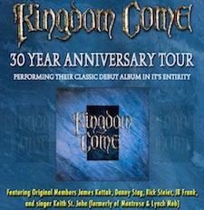 Kingdom Come 30th Anniversary Tour