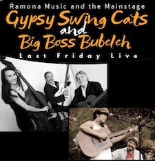Last Friday Concert Series - Gypsy Jazz