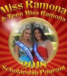 Miss Ramona & Miss Teen Ramona 2018