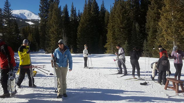 Breckenridge Nordic Center Group Cross Country Ski Lessons