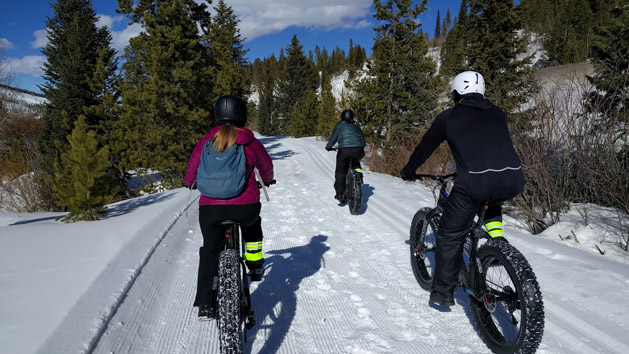 Rent Borealis Fat Bikes at Ridden in Breckenridge, Co