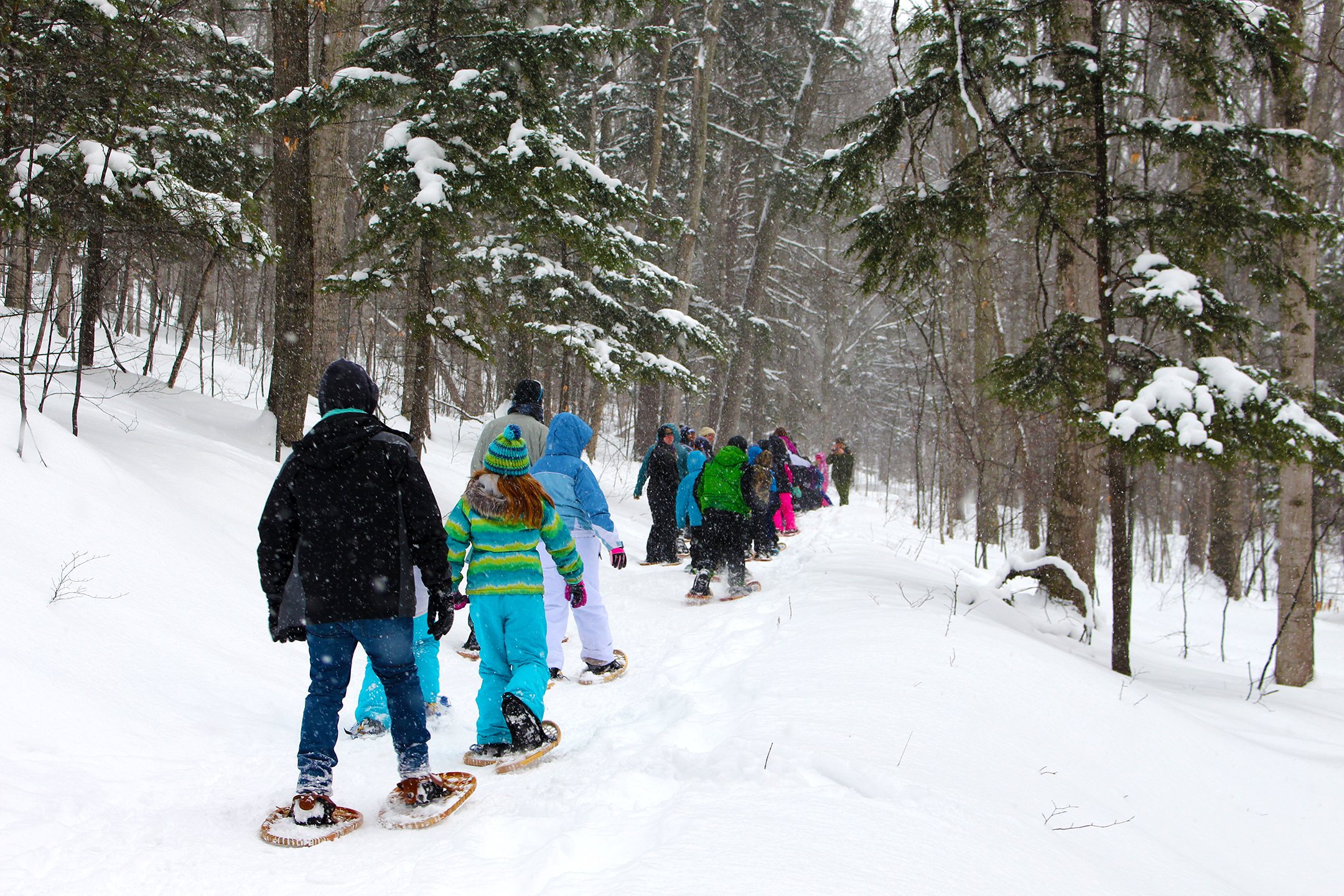 Snowshoe Trek to Broken Compass