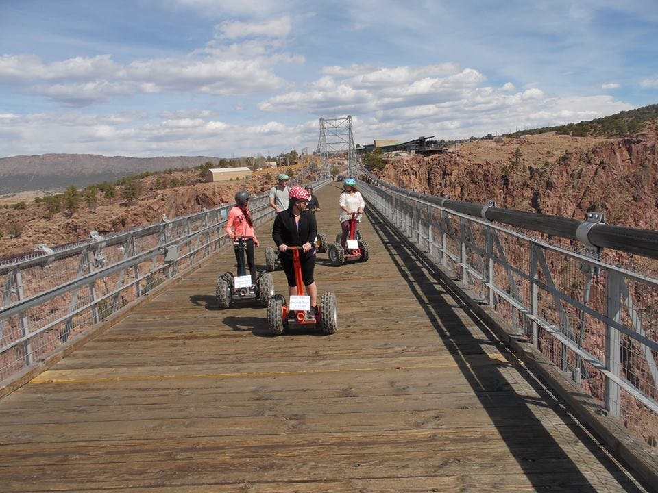 Royal Gorge Bridge Segway Tour