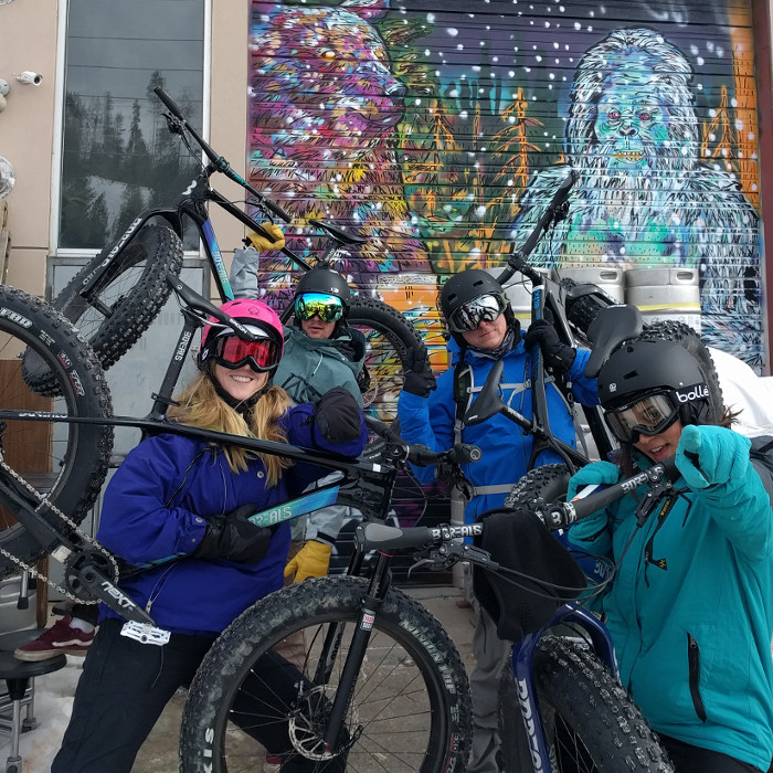 Get Rad with RIDDEN Fat Bike Tours.