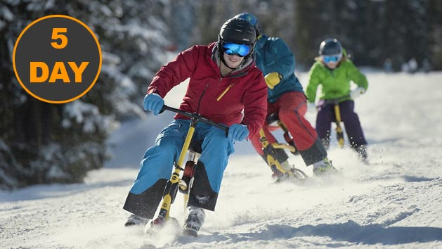 5 Day Snowbike Rental