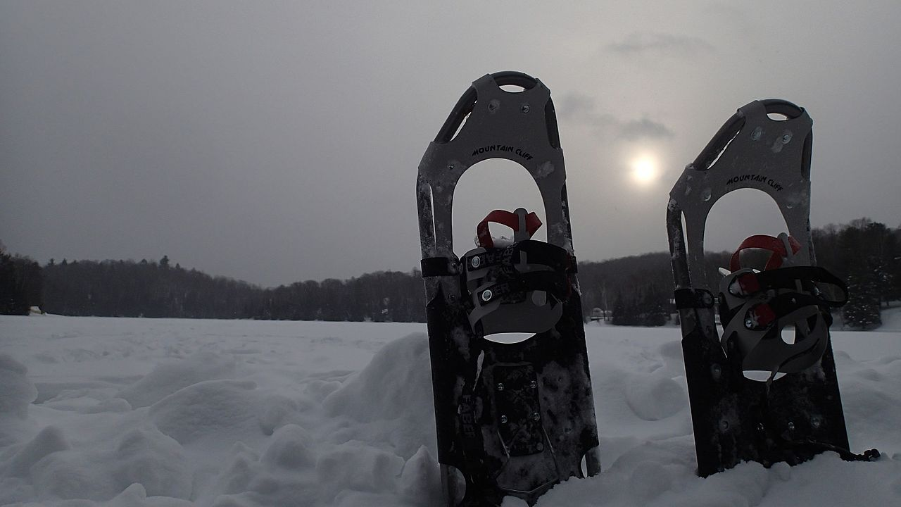 Beginner snowshoe adventure with a reward at the end!