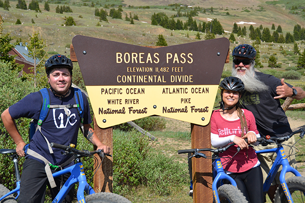 Ridden Boreas Pass Scenic Bike Shuttle